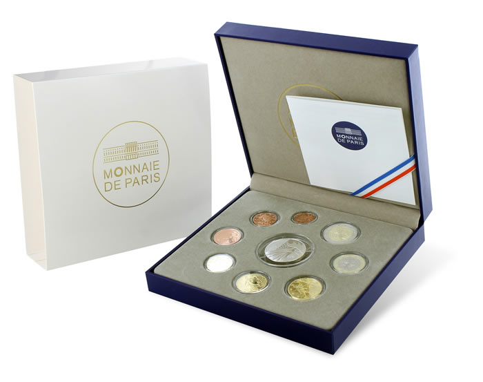 Le coffret BE Euro - Monnaie de Paris 2015
