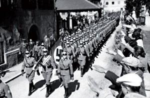 Dès l'Anschluss (annexion de l'Autriche par l'Allemagne en 1938), les 78 000 kilos d'or de la Banque d'Autriche furent transférés à Berlin.