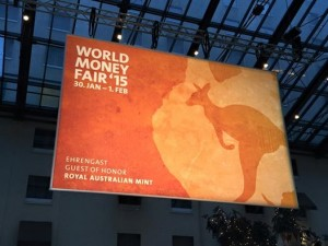 L'Australie, invité d'honneur du World Money Fair 2015
