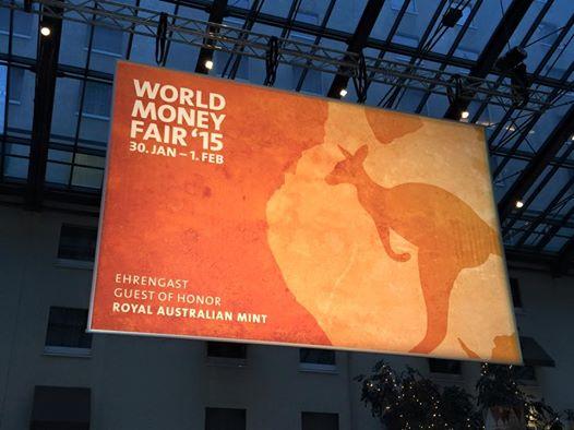 45e World Money Fair - 5 au 7 février 2016 - Berlin