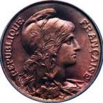 La Marianne de Jean- Baptiste Daniel-Dupuis sur une pièce de 10 centimes 1898