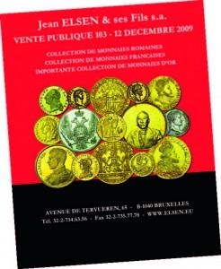 Catalogue d'une vente aux enchères organisée par la Société Elsen