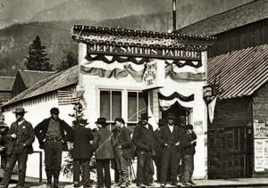 Saloon à Skagway en 1898