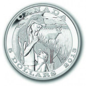 "Canada : 5 Dollars 2013 ""Chasse traditionnelle"""