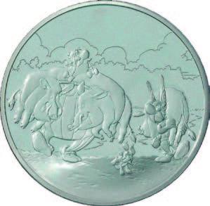 """Monnaie de Paris : 1,5 Euro """"Asterix"""" 2007"""