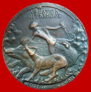Médaille de Pisanello pour Alphonse d'Aragon