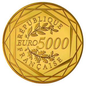 """5000 Euros Or """"Hercule"""""""