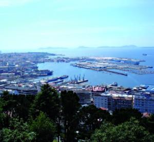 Le port de Vigo de nos jours
