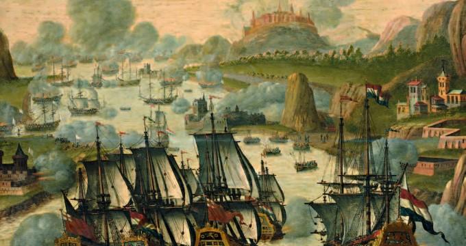 La bataille de Vigo, le 23 octobre 1702