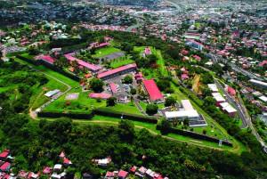 C'est dans le Fort Desaix Fort de France (Martinique), que fut cachée pendant une période, une partie de l'or de la Banque de France.