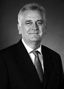 Tomislav Nikolic est Président de la République de Serbie depuis mai 2012.