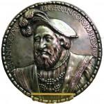 Médaille en argent à l'effigie de François Ier. Musée Paul Dupuy.