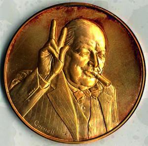 Médaille autrichienne de 1964.