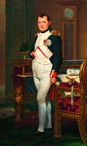 Napoléon Bonaparte, créateur de la Banque de France en janvier 1800.