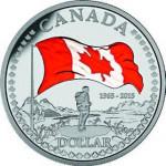 Canada. 1 dollar argent.