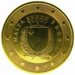 Malte. 10 centimes d'euro.