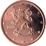 Finlande. 1 centime d'euro.