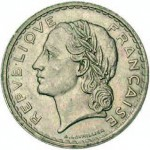 France. 5 francs Lavrillier