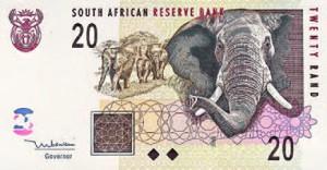Billet d'Afrique du Sud.