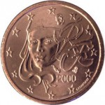 France. 5 centimes d'Euro.