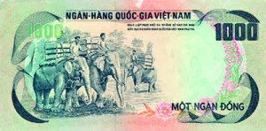 Billet du Vietnam.