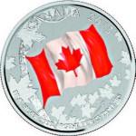 Canada. 25 dollars argent.