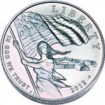 USA. 1 dollar argent.