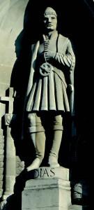 Le navigateur portugais Bartolomeu Dias - espèces