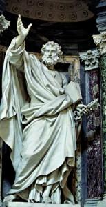 Dans la tradition catholique, Pierre est considéré comme le premier évêque de Rome. Tous les papes sont considérés comme ses successeurs. monnayage pontifical