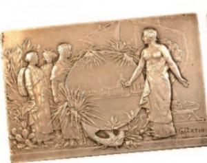 Médaille de l'exposition coloniale de 1906