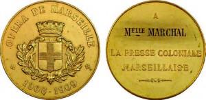 Médaille de l'opéra de Marseille