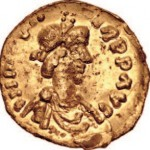 Solidus d'or de Clotaire II