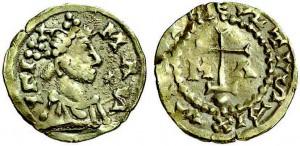 Trémisis d'or de Sigisbert III