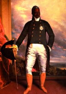 Le Roi Henri Christophe, surnommé l'Empereur Noir - Haïti