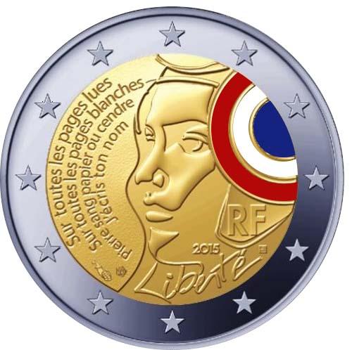 La Liberté à l'honneur sur la nouvelle pièce de 2 euros française !