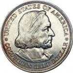 1892. Pièce de 1/2 dollar.