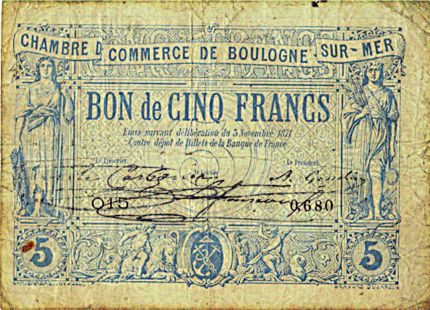 Les monnaies de nécessité de 1870 - par Eduardo Gurgel