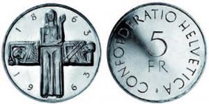 5 Francs argent, 1963