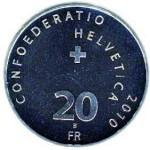 20 Francs argent, 2010