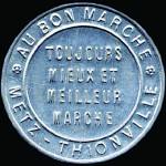 Monnaie-timbre émise à Metz pendant la Première Guerre Mondiale