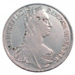 Première version du Thaler de Marie Thérèse en 1764