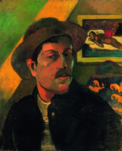 "Paul Gauguin, ""Autoportrait"" (1893)"