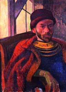 """Meyer de Haan, """"Autoportrait"""" (1889)"""
