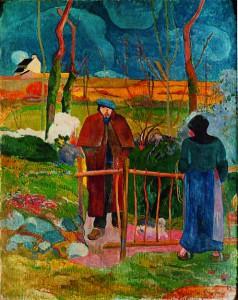 "Paul Gauguin, ""Bonjour Monsieur Gauguin"" (1889)"