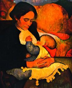 "Meyer de Haan, ""Marie Henry allaitant son enfant"" (1889)"