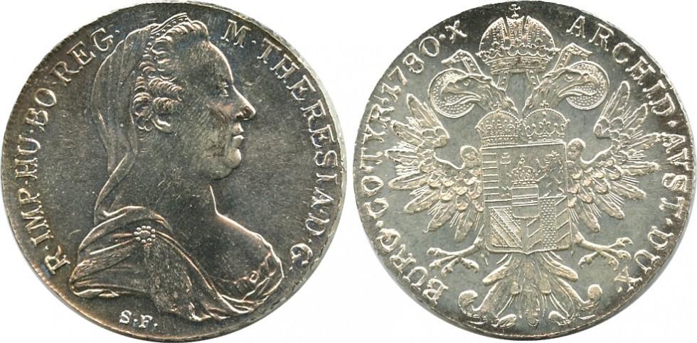 Marie-Thérèse d'Autriche : Un Thaler victime de son succès