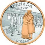 Canada, 1 dollar 2014.