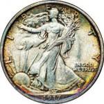 Etats-Unis, 1/2 dollar.