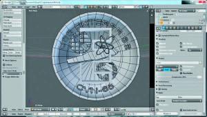 Création d'une monnaie de fantaisie par impression 3D.