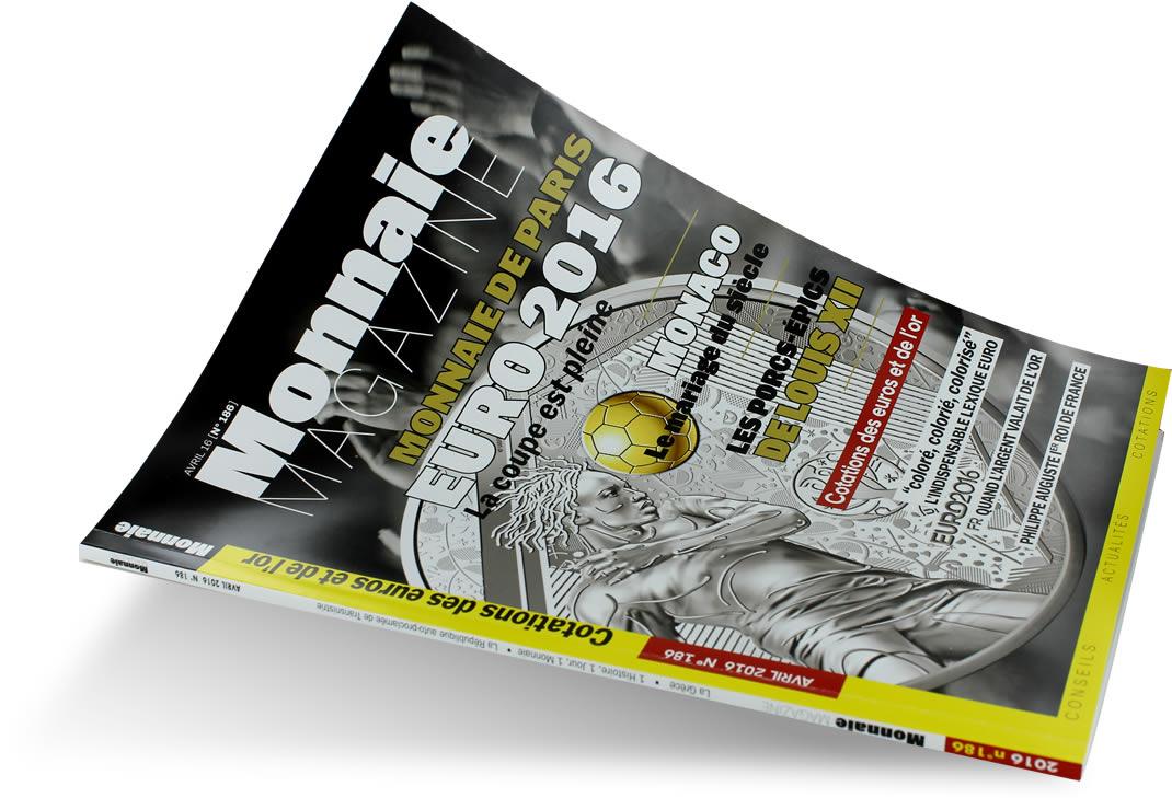 MONNAIE MAGAZINE N°186 – AVRIL 2016
